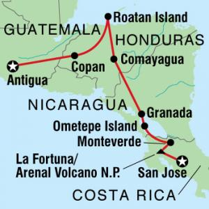 The Overland portion of my Central America Trip