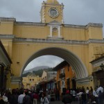 Random image: 2012/01/29 - The famous arch in Antigua