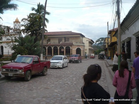 The centre of Copan