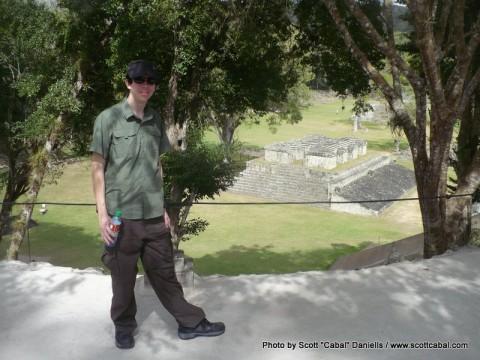 Me at Copan Ruins