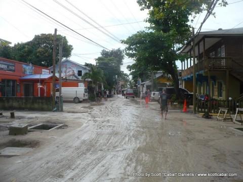 Roatan Island after rain