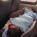 Random image: 2012/02/05 - Kelly relaxing