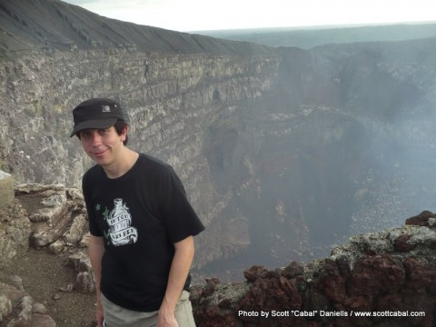 Me and the crater