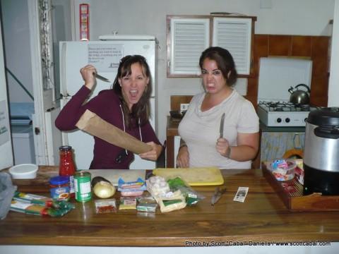 Team Breakaway cooking