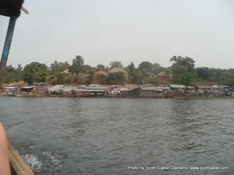 The shores of Lake Victoria