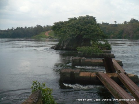 The source of the River Nile