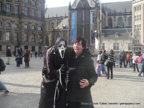Ghostface got me!