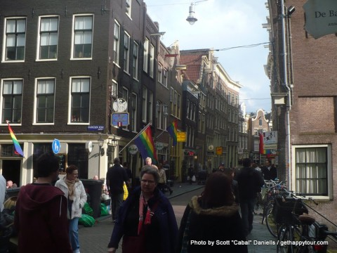 The Amsterdam LGBT district