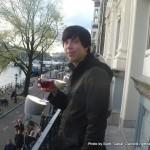 Random image: 2012/04/14 - Me with a wine