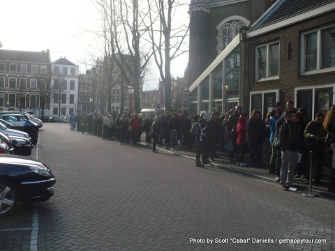 The Queue for Anne Frank's House