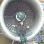 Random image: 2012/04/15 - Aircraft engine