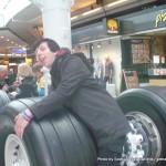 Random image: 2012/04/15 - Me and a Landing Gear