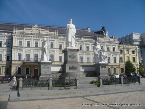 Statues in Kiev