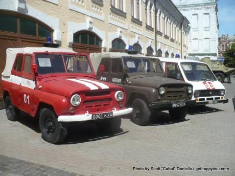 Chernobyl Trucks