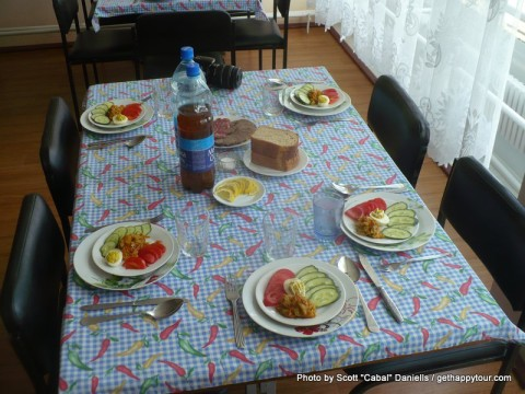 Lunch at Chernobyl
