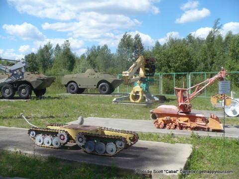 Chernobyl Robots