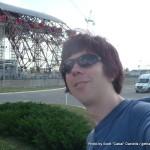 Random image: 2013/06/19 - Me at Chernobyl