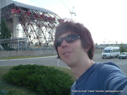 Me at Chernobyl