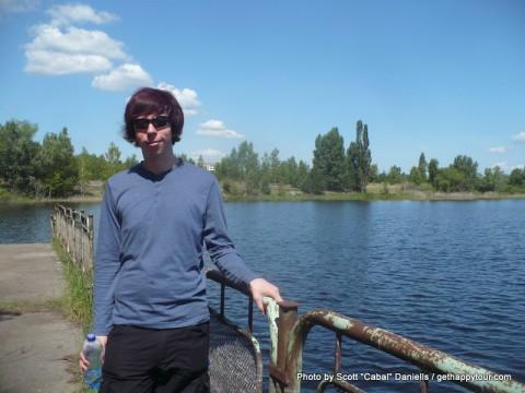 Me in Pripyat