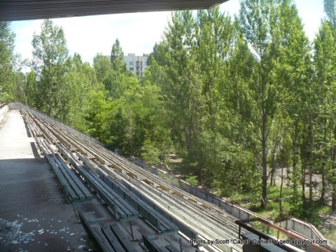 Pripyat Stadium stands