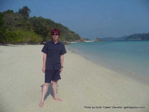 Me on Island 115