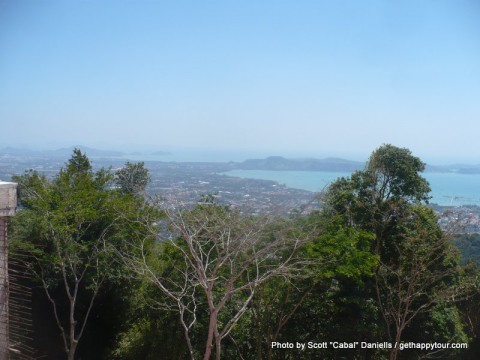 A view from the Big Buddha