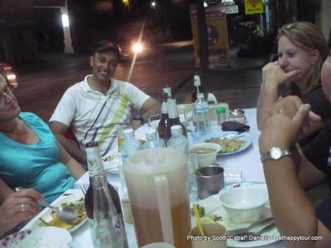 Dinner in Ranong