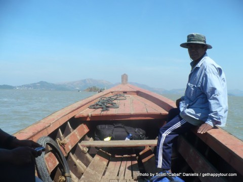 Crossing into Myanmar