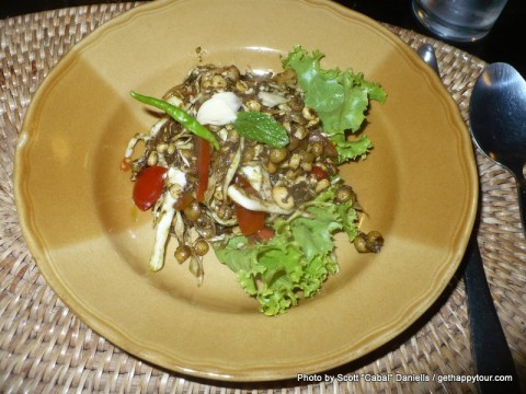 Tea Leaf Salad