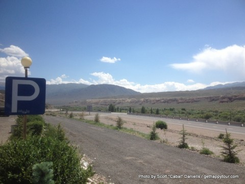 Kyrgyzstan rest area
