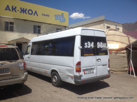 Kyrgyz public transport