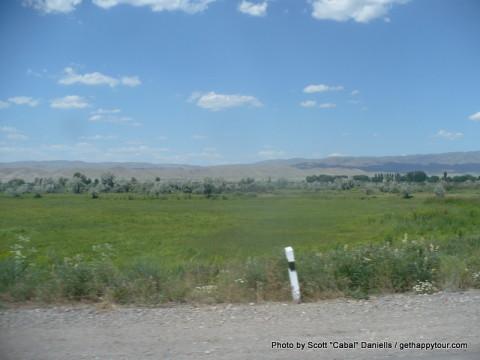 Kazakh border