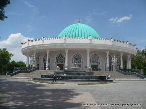 Walking around Tashkent
