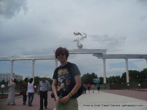 Me in Tashkent