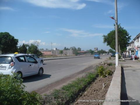Uzbek town
