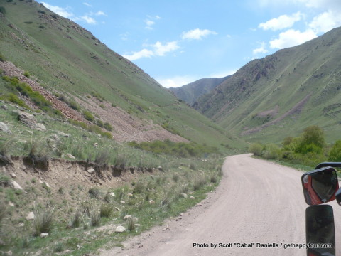 Kyrgyz scenery