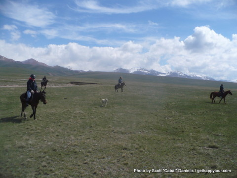 Song-Kul Horse Riding
