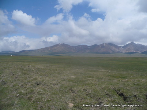 Song-Kul scenery