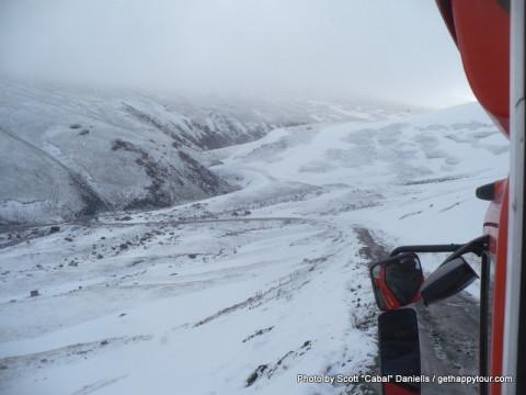 Fresh snow in Kyrgyzstan