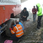 Random image: 2015/06/01 - Changing a tyre