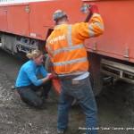 Random image: 2015/06/01 - Fixing the truck