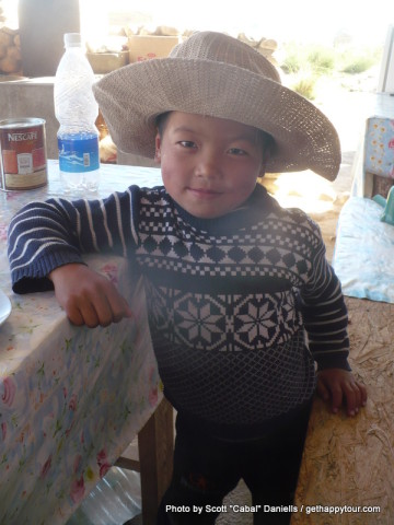 Cowboy in Kyrgyzstan