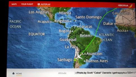 Iberia Sky Map