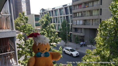 Charlie in Santiago de Chile