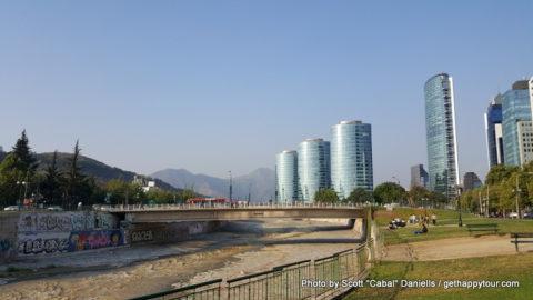 Mapocho River, Santiago