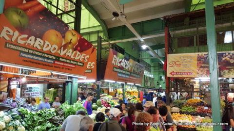 Valparaíso food market