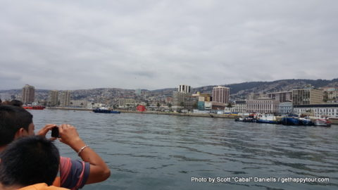 Valparaíso by sea