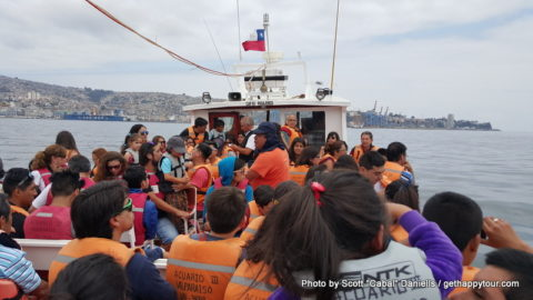Valparaíso boat tour