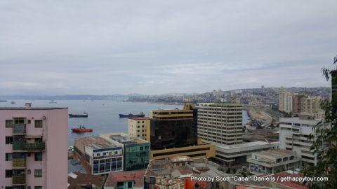Valparaiso coastline