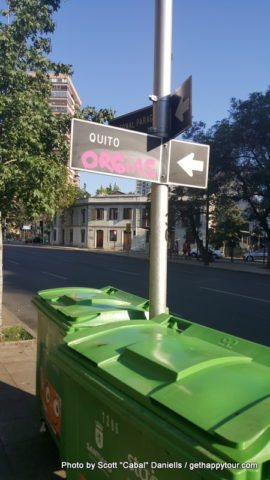 Orgy graffiti